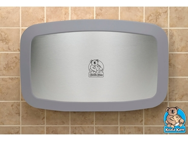 Compact wall mounted Koala baby change table