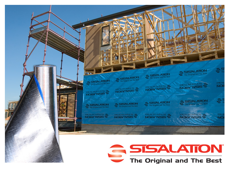 Sisalation 174 Reflective Foil Insulation Architecture And