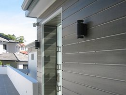 InnoClad™ architectural composite wood cladding system from Innowood Australia
