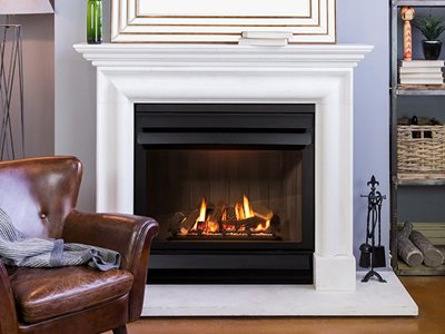 Schots Kalfire gas fireplace in interior