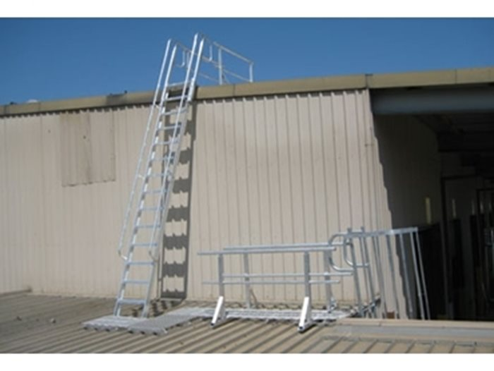 Commercial And Industrial Fixed Access Ladders By Am Boss