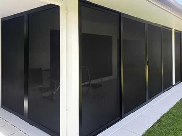 Patio security screens create an impenetrable barrier to block the entry of intruders of all sizes