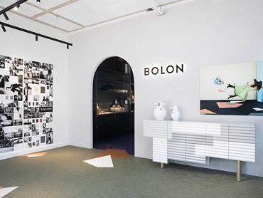 Beauty and performance are interwoven into Bolon's flooring products