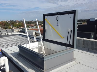 Fire Rated Roof Hatch Safe Secure And Fire Resistant