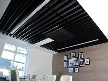 Armstrong acoustic systems in office interior