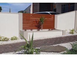 Residential Fence Panel Walls and Privacy Systems from Wallmark