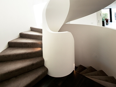Architectural Feature Stairs For Commercial and Contemporary Homes From S & A Stairs