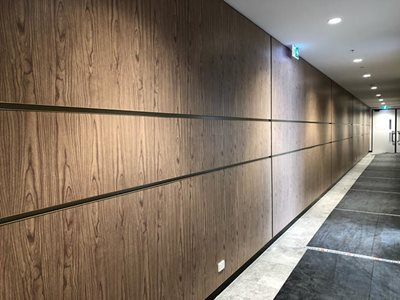 DecoPanel non combustible wall lining and cladding enth degree wall aanels
