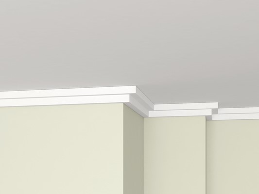 GTEK™ Cornice - The finishing touches to interior wall and ceiling joints