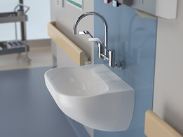 Caroma's Clinic Wall Basin optimises hygiene in medical applications