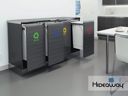 Hideaway 50L recycling station
