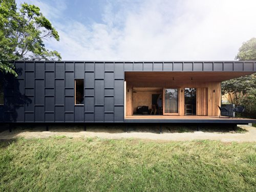 Simple timber home