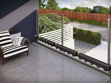 EasyDRAIN Edge is an architecturally designed drainage system installed under the surface to work seamlessly with tiles and pavers for a completely concealed finish