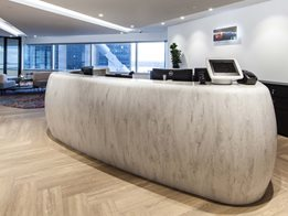 Corian® for reception counters