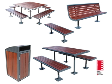 Street Park Furniture Suites by Furphy Foundry l jpg