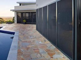 Invisi-Gard: 316 Stainless steel security screens