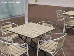 Modern urbantable_tops for Indoor and Outdoor Use from Ultra Design Composites