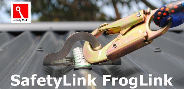 SafetyLink FrogLink roof anchor2