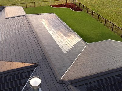 residential home solar roof tiles