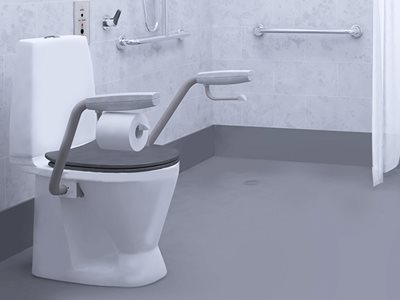 IFÖ: The original toilet suite with support arms