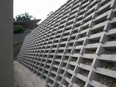 Concrete Crib Walls From Concrib Architecture And Design