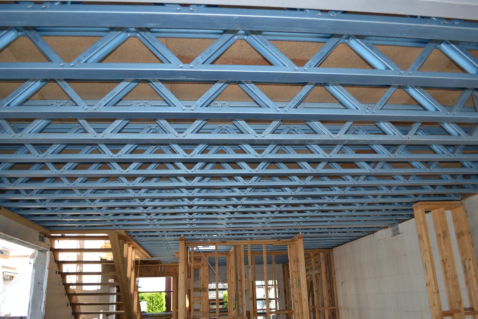 Joists architecture and design Floor joist trusses