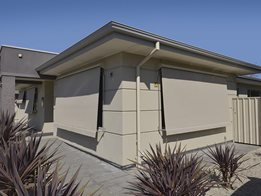 Affordable outdoor auto-awnings