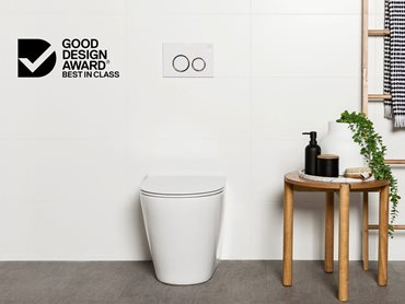 Milu Odourless toilet received a prestigious Good Design Award Best in Class accolade