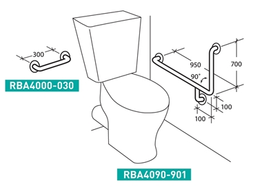 Disabled And Accessible Commercial Bathroom Accessories From RBA - Disabled bathroom equipment