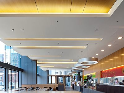 Rondo George St keylock ceiling system