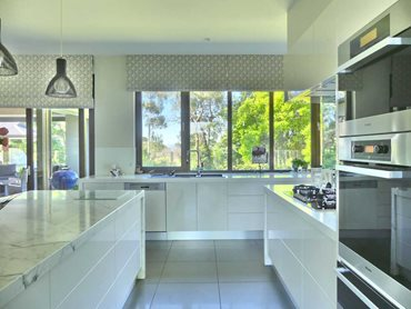 The owners chose triple glazing for the added benefit of extra energy efficiency