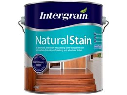 ​Intergrain NaturalStain from Cabot's