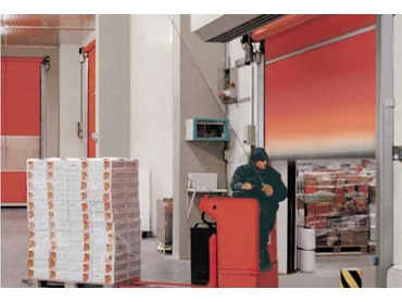 M.T.I. Qualos Economical High Speed Doors that Improves Productivity