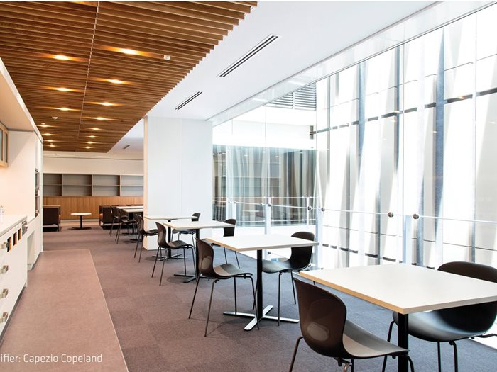 Acoustic ceiling access panels architecture and design screenwood ceiling tiles dailygadgetfo Image collections