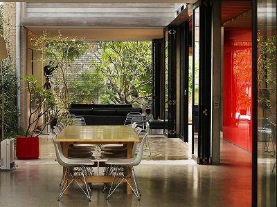 Viridian Glazing Central To Design At Sydney Architect S