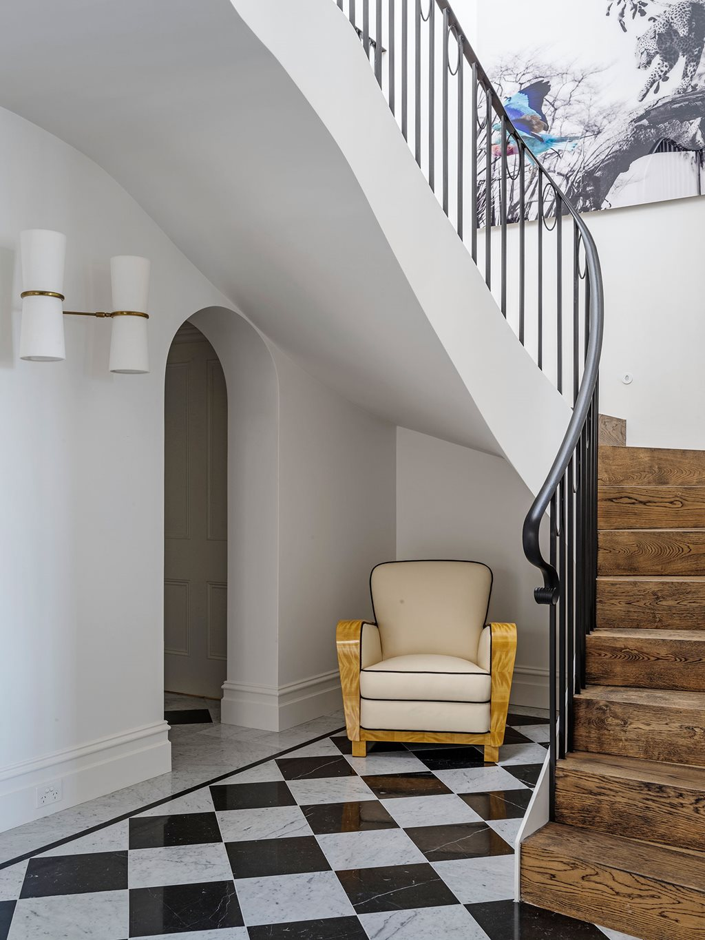 Luigi Rosselli Tummy Tuck Gives Old Queen Anne Home New