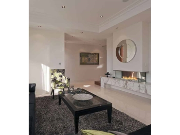 Pure Vision Contemporary Gas Fireplaces from Real Flame