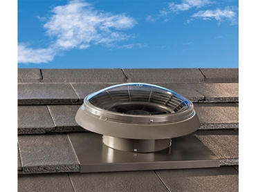 Austech Edmonds AiroMatic Roof Ventilator with sleek design to compliment all roof types