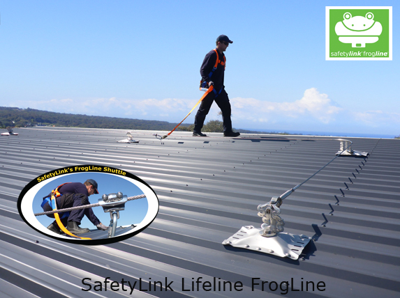 FrogLine Horizontal Lifelines for working at heights