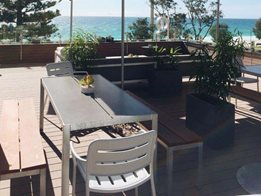 Termite, mould and slip resistant composite CleverDeck decking materials from Futurewood