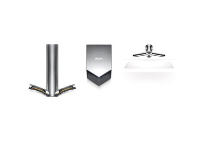 Dyson Airblade product lineup wash and dry V hand dryer and 9KJ