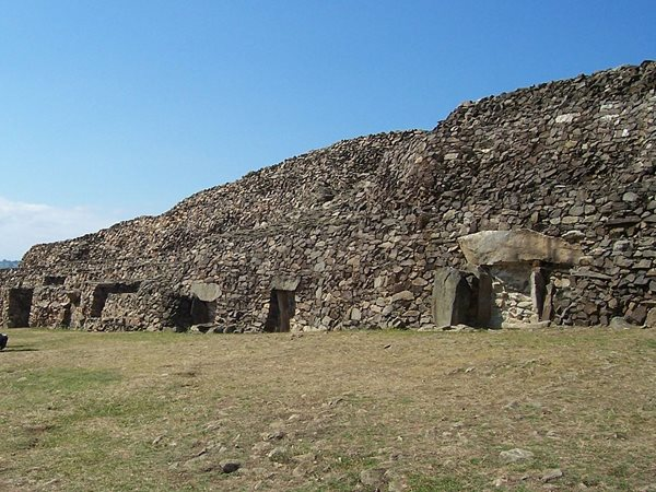 The Cairn of Barnenez in Brittany, France