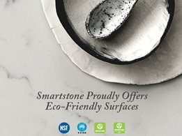 Eco-friendly quartz surfaces from Smartstone