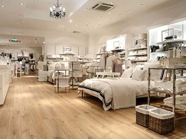 The White Company store in Milton Keynes, UK.