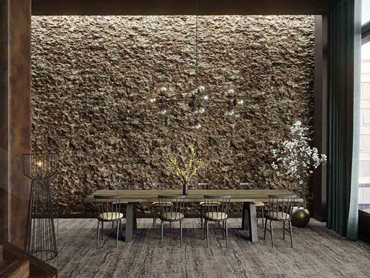 Havwoods' solid cork wall tiles