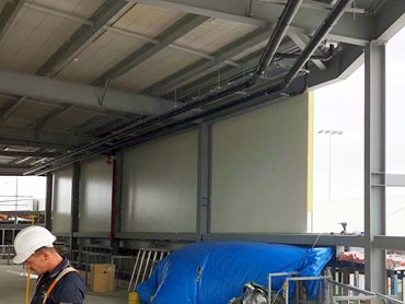 High performing non-combustible insulated panels from ASKIN Performance Panels were specified for the upgrade project