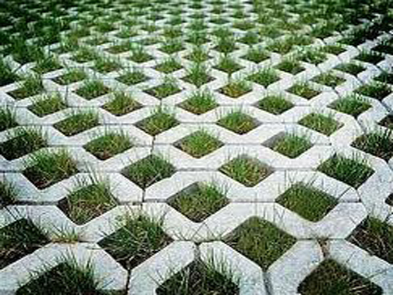 Grass pavers architecture and design for Green pavers