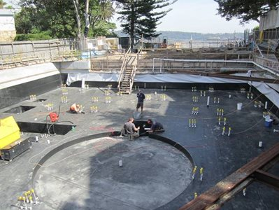 Wolfin waterproofing membranes for timber, concrete and