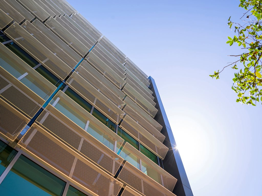 Atmosphere - sustainable façade systems from Locker Group