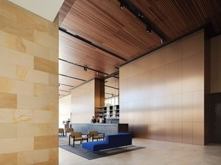 Architectural Ceiling and Wall Panels by Screenwood